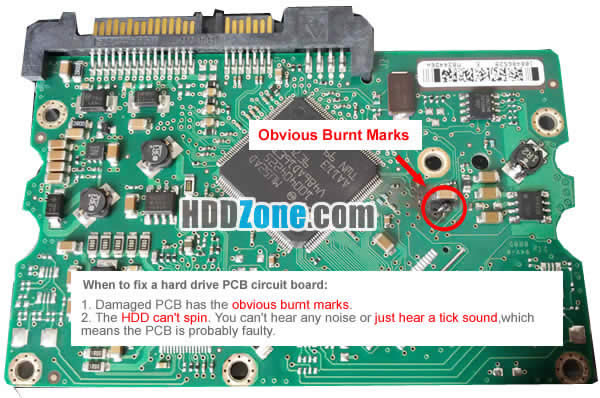 How to fix a hard drive pcb board hddzone when to fix a hard drive pcb circuit board cheapraybanclubmaster Gallery