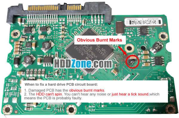 fix hard drive pcb board how to fix a hard drive pcb board hddzone com SATA Hard Drive Diagram at creativeand.co