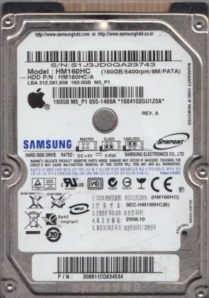 Samsung hdd hm160hc firmware.