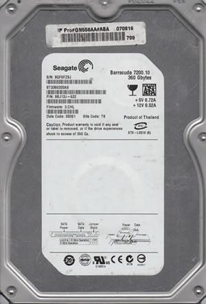 "Seagate Barracuda 7200.10 360GB Hard Drive 3.5/"" SATA"