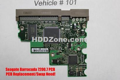 Seagate 7200.7 PCB