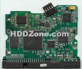 Western Digital Hard Drive Circuit Board