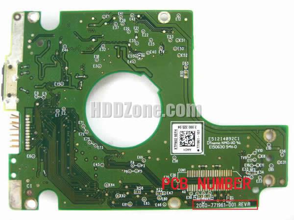 How to Repair Western Digital PCB 2060-771961-001 - HDDzone com