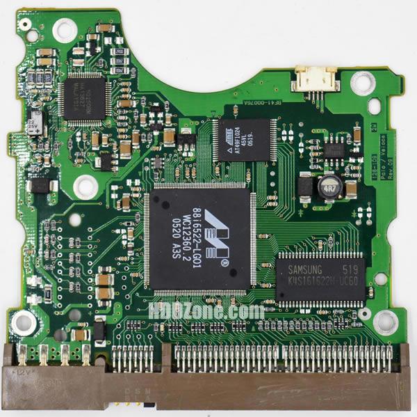 Hard Disk Sentinel - Technical details for disk SAMSUNG HMHJ