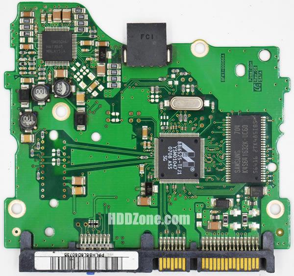 BF41-00086A 삼성 하드디스크 기판 Samsung PCB