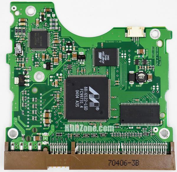 BF41-00067B 삼성 하드디스크 기판 Samsung PCB