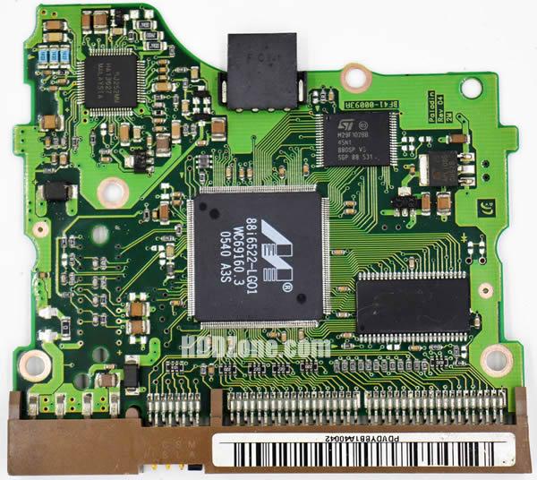 BF41-00093A 삼성 하드디스크 기판 Samsung PCB