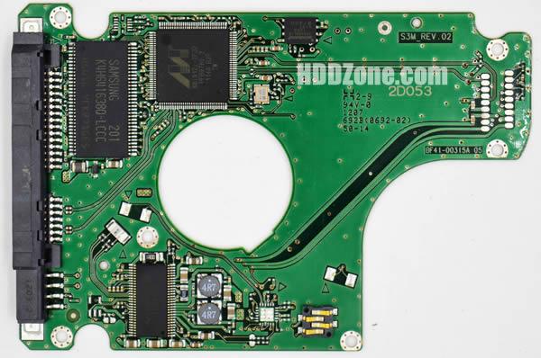 BF41-00315A 05 carte PCB disque dur samsung