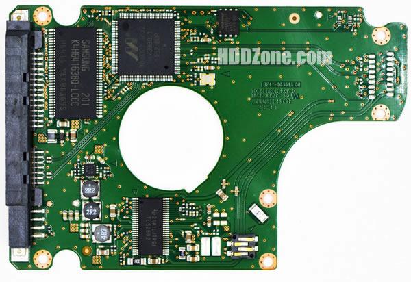 BF41-00354A 00 carte PCB disque dur samsung