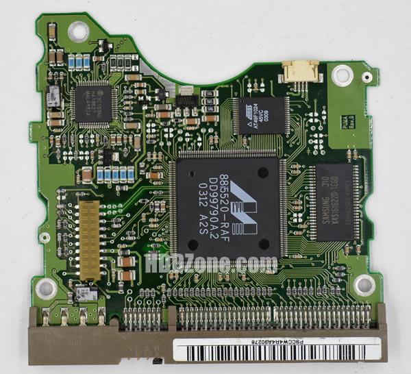 SP8004H SAMSUNG PCB BF41-00051A