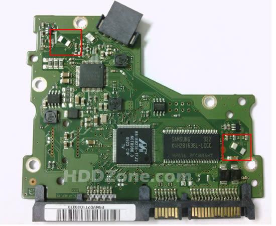 BF41-00263A 02 carte PCB disque dur samsung