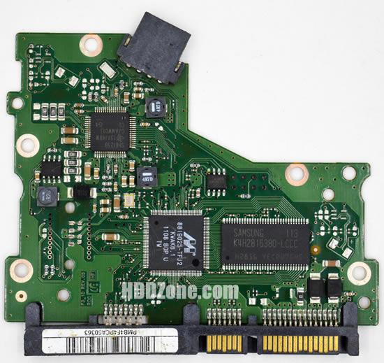 BF41-00352A 00 carte PCB disque dur samsung
