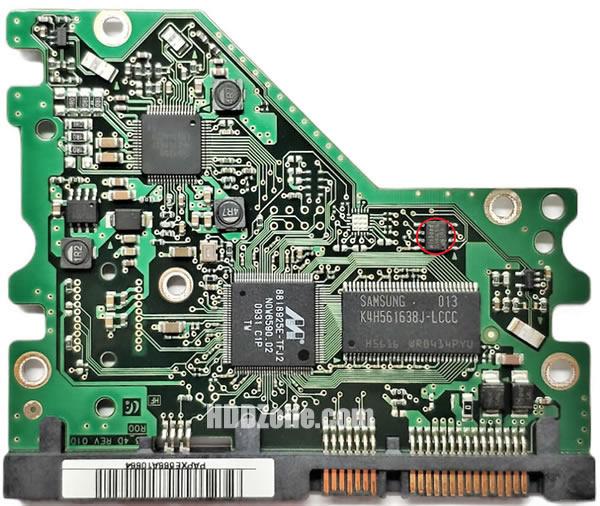 BF41-00281A 00 carte PCB disque dur samsung
