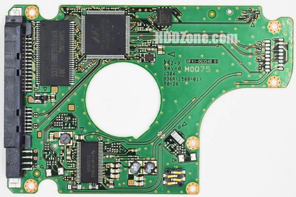 BF41-00354B 01 carte PCB disque dur samsung