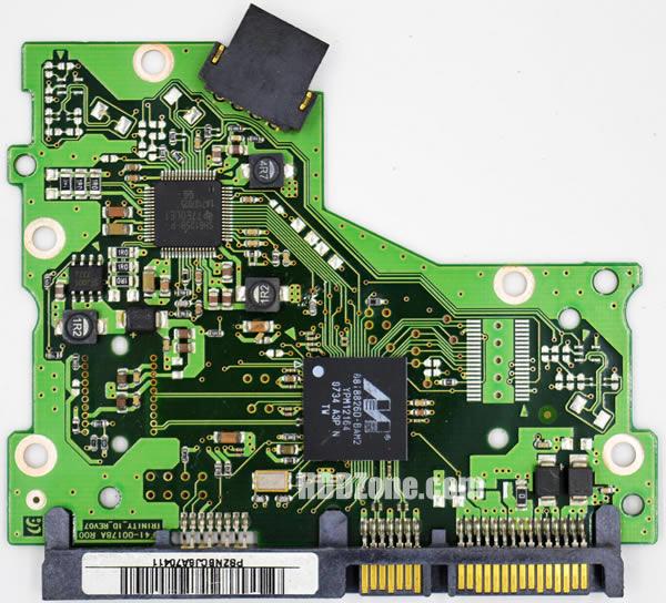BF41-00178B R00 carte PCB disque dur samsung