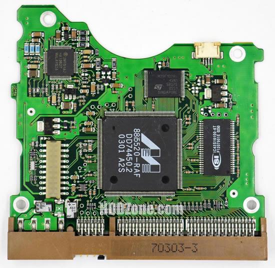 BF41-00058A 삼성 하드디스크 기판 Samsung PCB