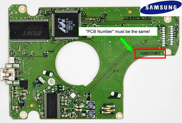SAMSUNG HDD PCB