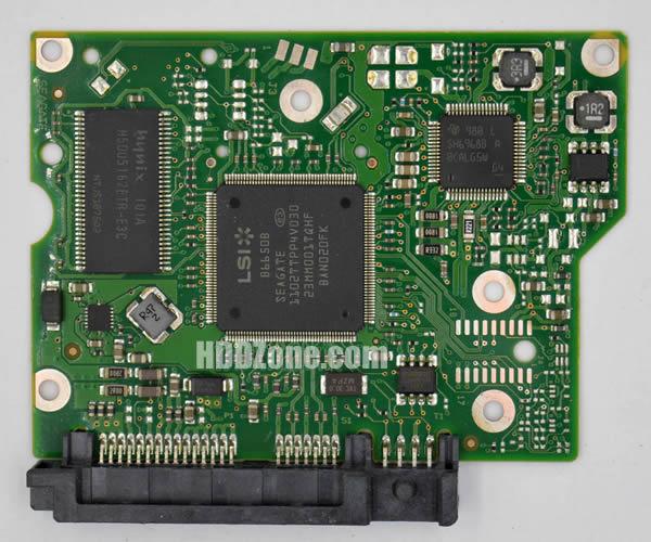 100617465 REV A carte PCB disque dur seagate