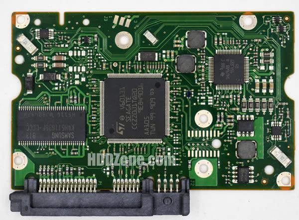 100557583 Festplatten Elektronik Controller Platine Seagate PCB
