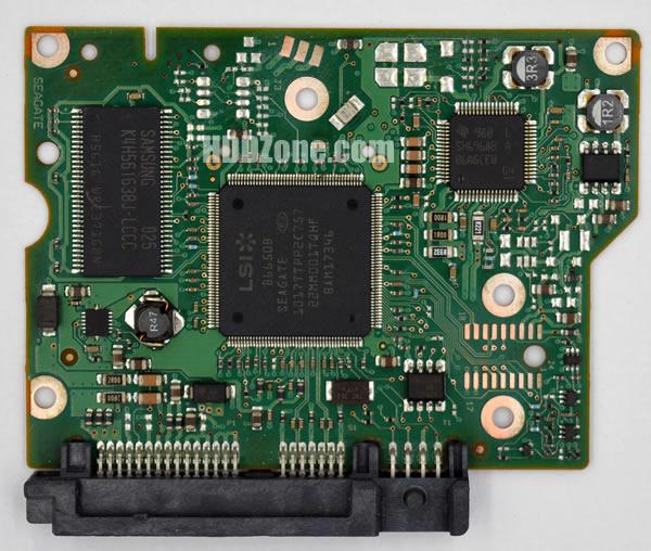 100603204 REV A carte PCB disque dur seagate