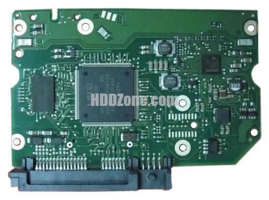 100608206 Festplatten Elektronik Controller Platine Seagate PCB