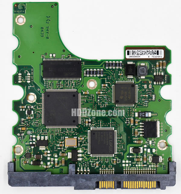 ST3200822AS Seagate PCB 100306336