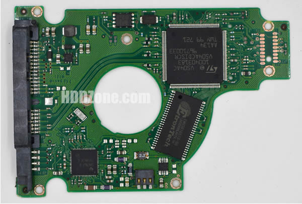 ST980811AS Seagate PCB 100398689