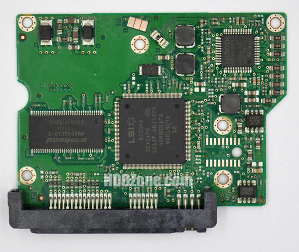 100504364 REV B carte PCB disque dur seagate