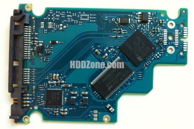 100570750 REV A carte PCB disque dur seagate