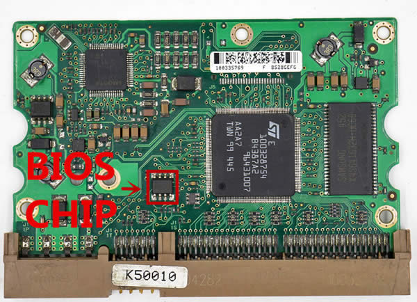 100328754 Festplatten Elektronik Controller Platine Seagate PCB