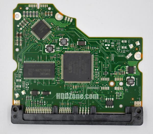 100650117 REV A carte PCB disque dur seagate