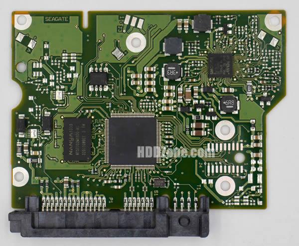 100717520 REV B carte PCB disque dur seagate