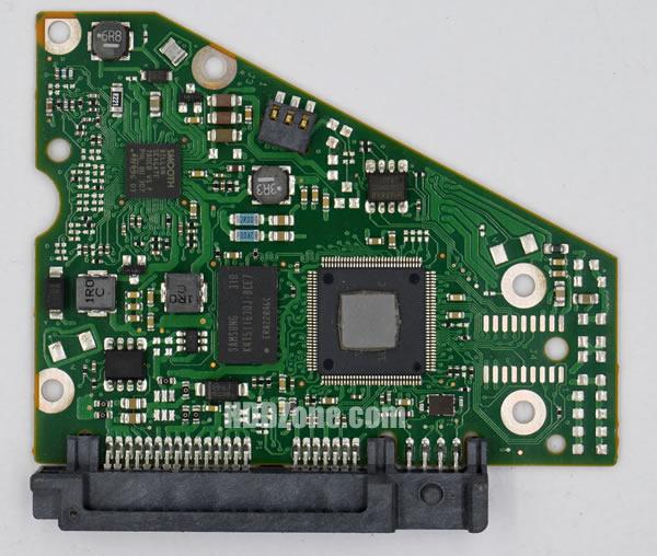 ST4000DM000 Seagate PCB 100710248 REV B