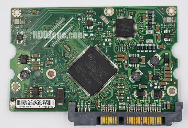 100383395 Festplatten Elektronik Controller Platine Seagate PCB