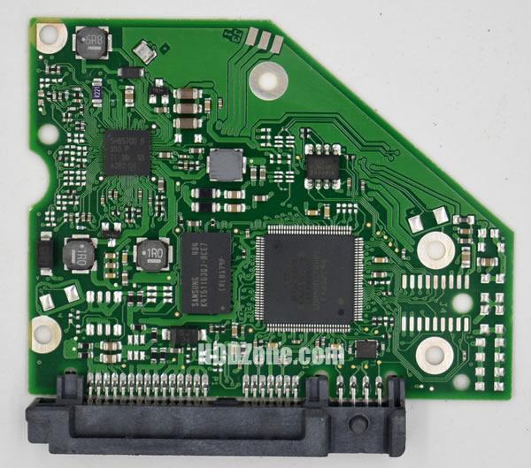 100724095 Festplatten Elektronik Controller Platine Seagate PCB