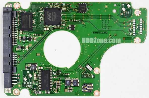 Seagate 100720903 PCB