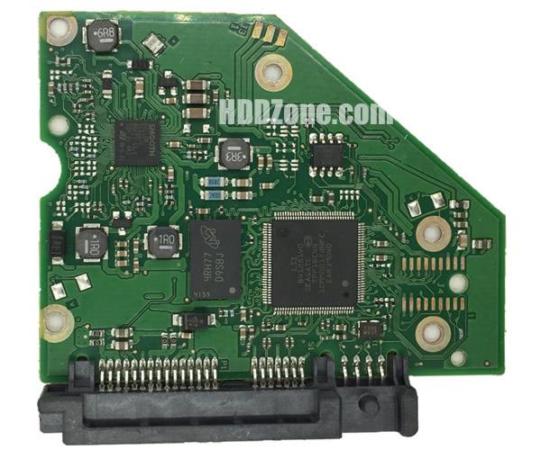 100762568 Festplatten Elektronik Controller Platine Seagate PCB