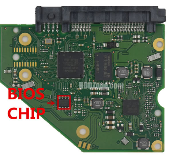 100788341 Festplatten Elektronik Controller Platine Seagate PCB