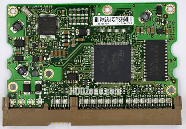 100354297 REV A carte PCB disque dur seagate