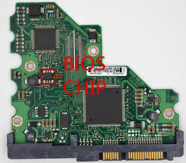 100367025 Festplatten Elektronik Controller Platine Seagate PCB