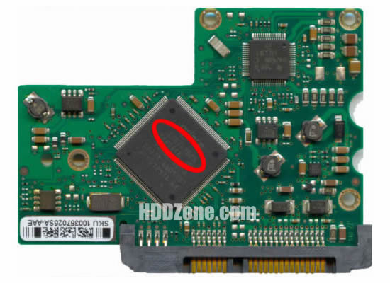 ST3200827AS Seagate PCB 100367026