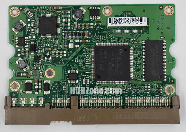 100387574 REV A carte PCB disque dur seagate