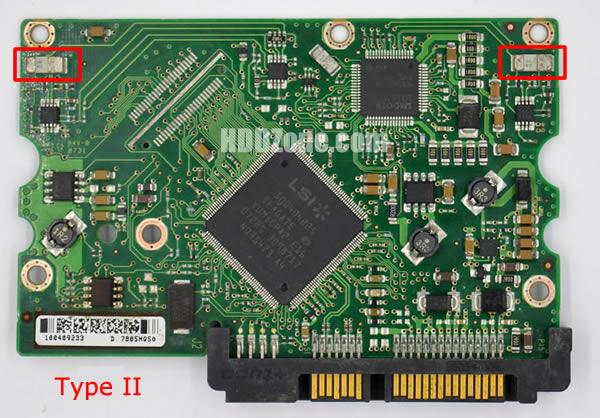 100406533 REV A carte PCB disque dur seagate