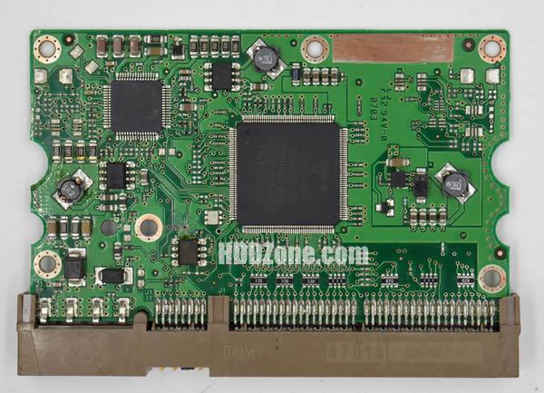 100406538 REV A carte PCB disque dur seagate