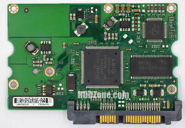 100406937 REV B carte PCB disque dur seagate