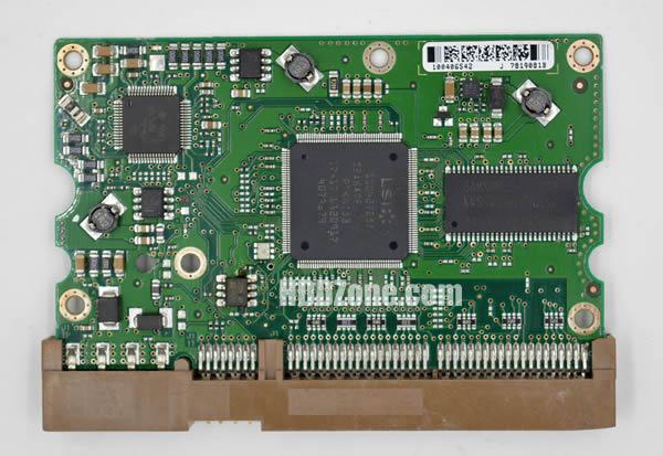 100414872 REV A carte PCB disque dur seagate