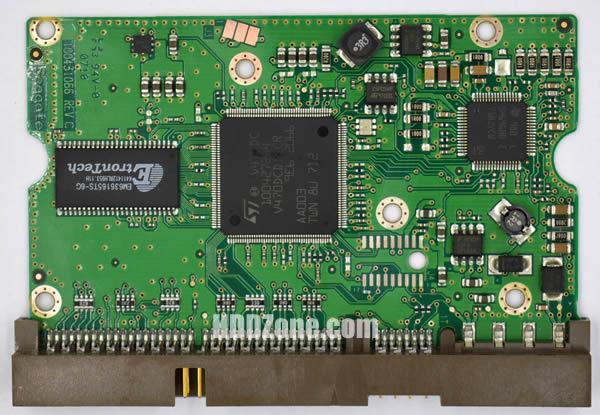100431066 Festplatten Elektronik Controller Platine Seagate PCB