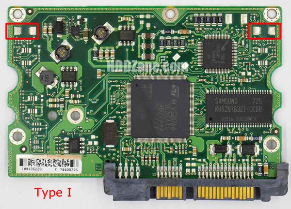 100435196 Festplatten Elektronik Controller Platine Seagate PCB