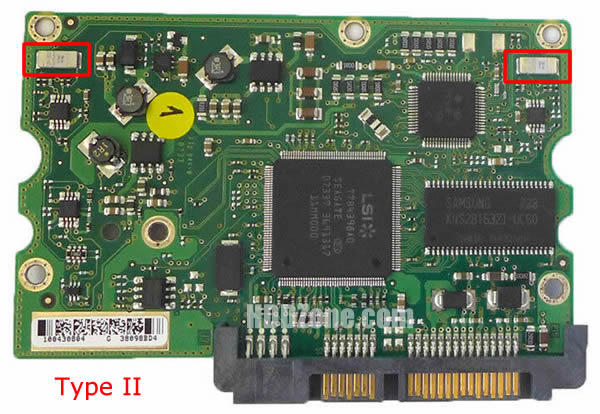 100435196 REV A carte PCB disque dur seagate