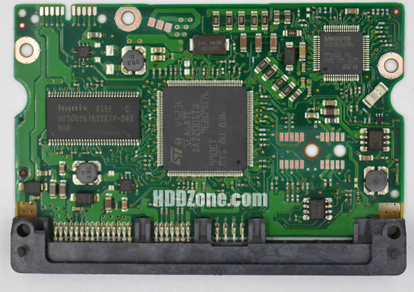 100466725 REV A carte PCB disque dur seagate